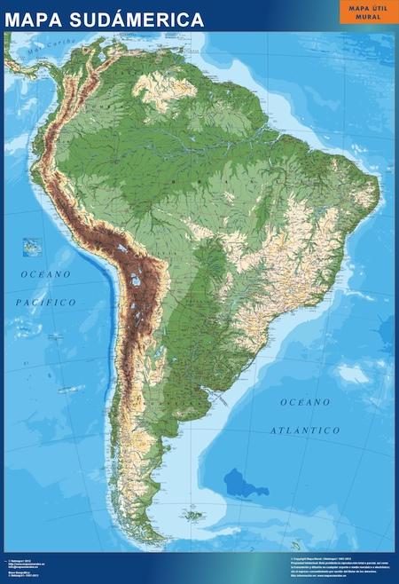 mapa sudamerica