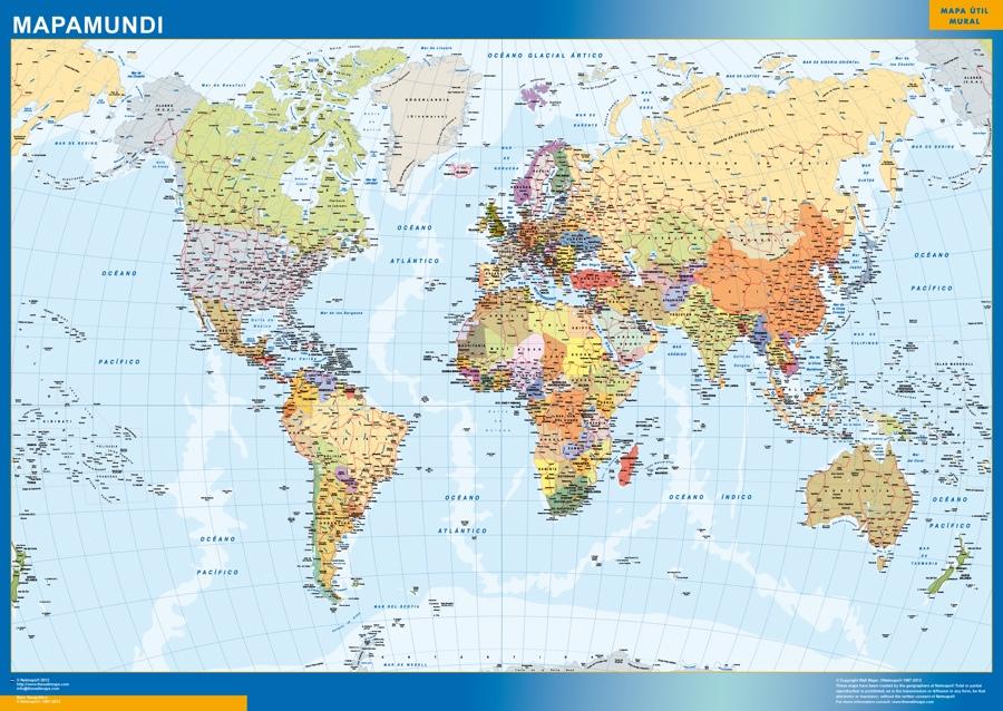 mapamundi 2014