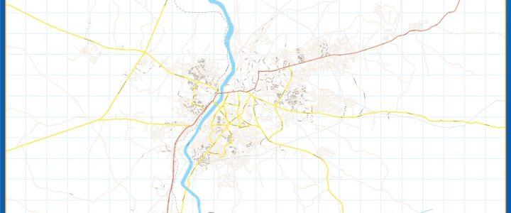 Abekouta Mapa