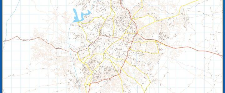 Ibadan Mapa