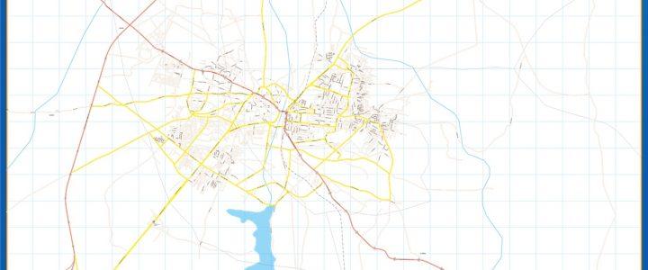 Ilorin Mapa