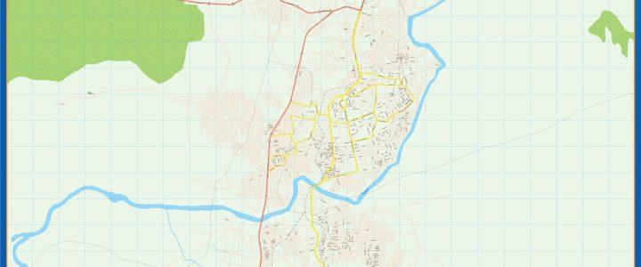 Kaduna Mapa