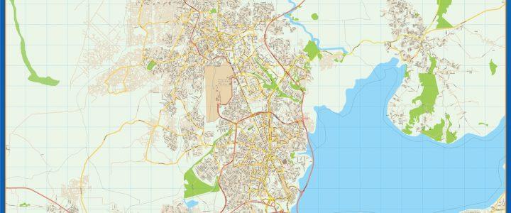 Lagos Mapa